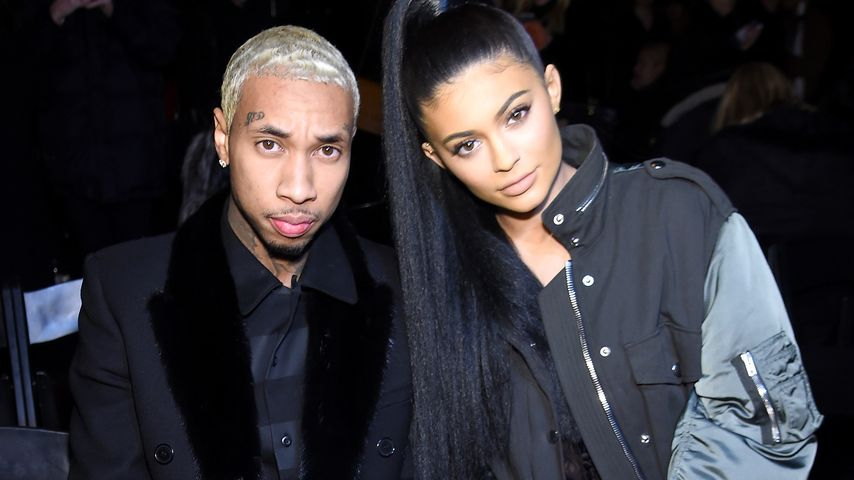 Tyga und Kylie Jenner bei der New York Fashion Week 2016
