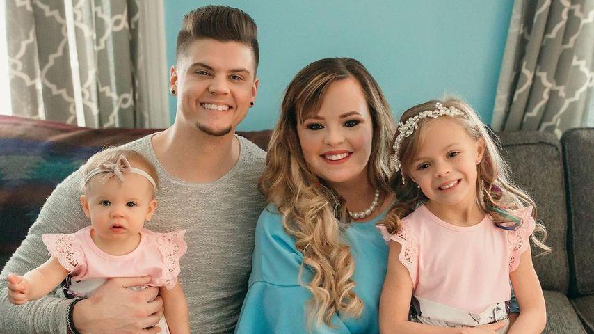 Tyler Baltierra und Catelynn Lowell mit zwei Töchtern