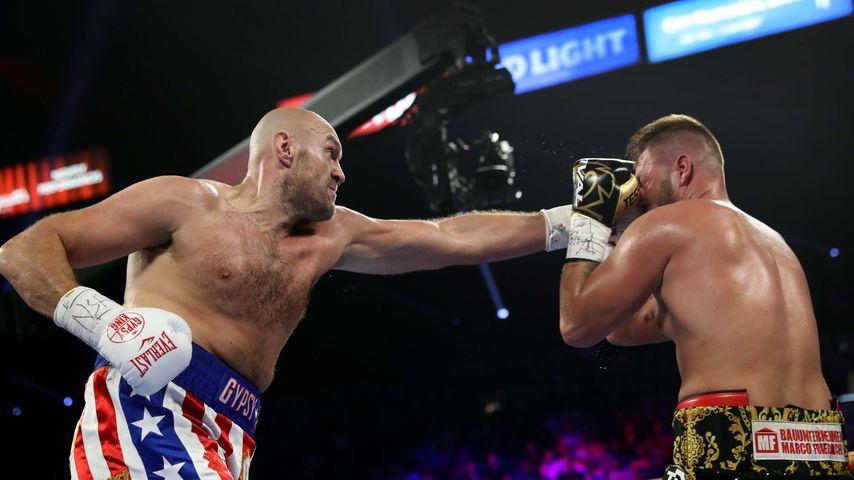 Tyson Fury und Tom Schwarz im Juni 2019
