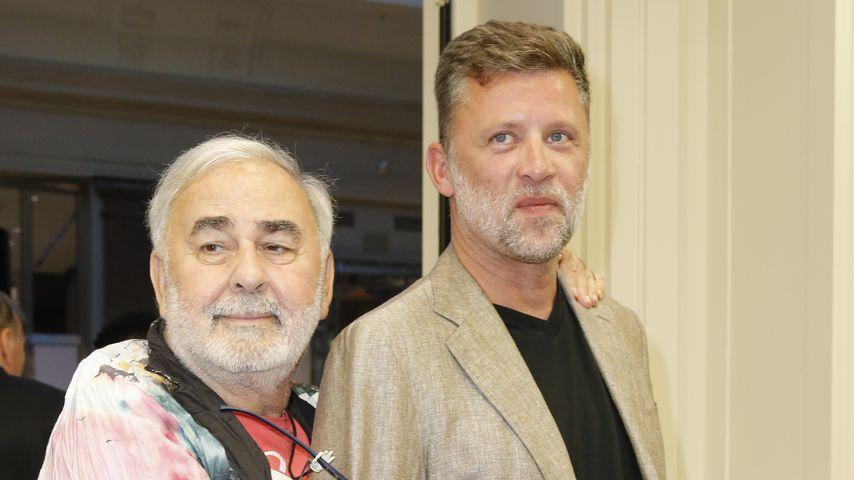 Udo Walz mit Ehemann Carsten Thamm-Walz im August 2018 in Berlin