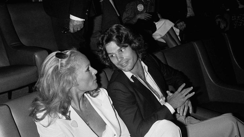 Ursula Andress und Harry Hamlin im Jahr 1979