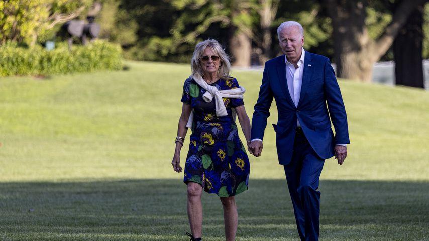 US-Präsident Joe Biden mit seiner Frau Jill, 2021