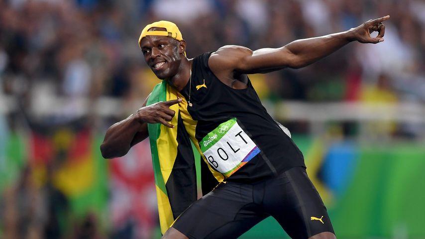 König der Athleten: Usain Bolt holt Gold über 100 Meter