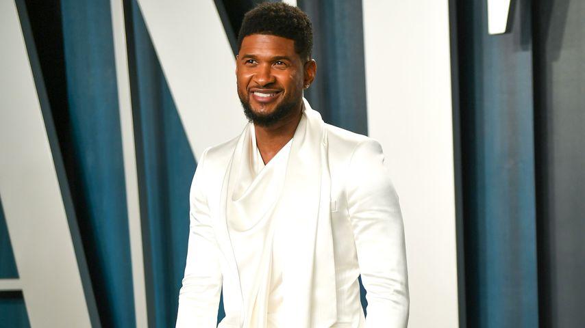 Usher bei der Oscar-Party von Vanity Fair