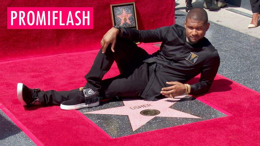 Usher hat nen Stern!