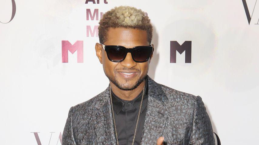 Usher bei einer Party in Miami