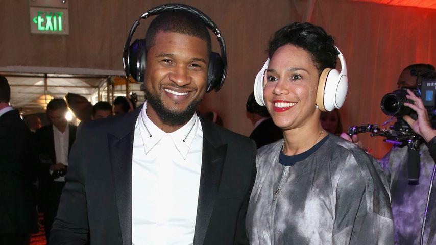 Wow! Ushers Verlobte zeigt ihren Diamant-Ring
