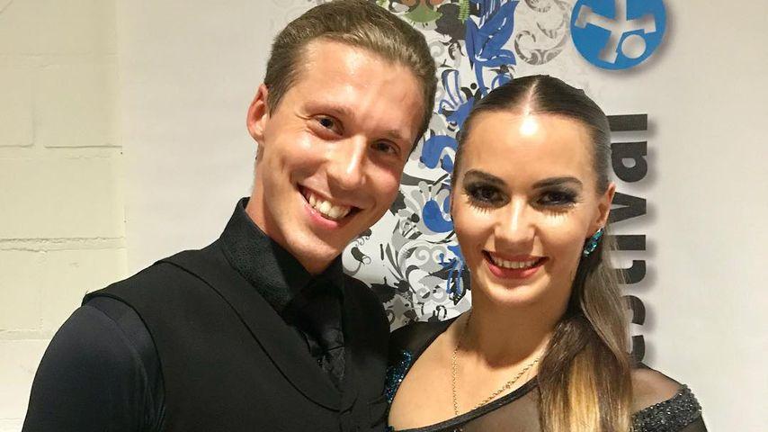 Valentin Lusin und Frau Renata