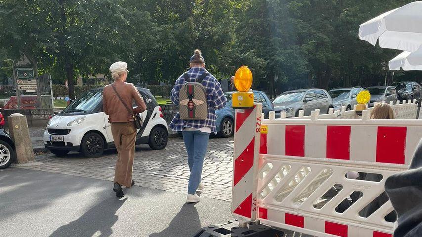 Valentina Pahde und Rúrik Gíslason im September 2021 in Berlin