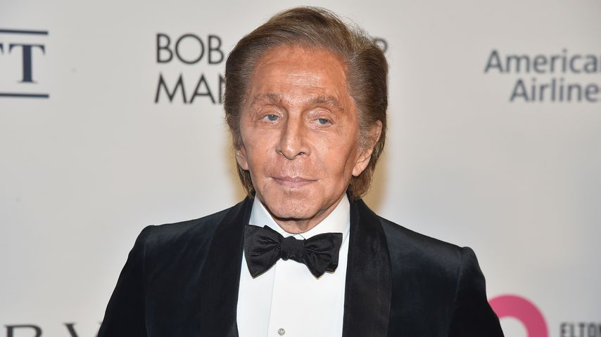 Valentino Garavani in New York, 2017