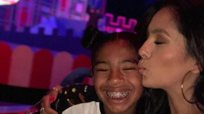 Vanessa Bryant mit ihrer Tochter Gigi