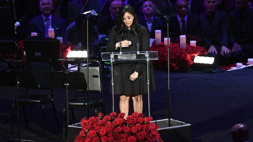 Vanessa Bryant bei der Trauerfeier für ihren Mann Kobe und Tochter Gianna