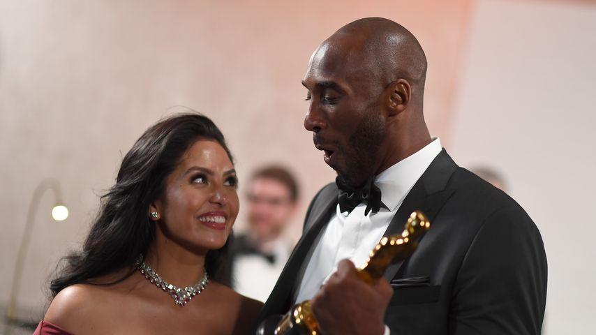 Vanessa Bryant mit ihrem Mann Kobe, März 2018
