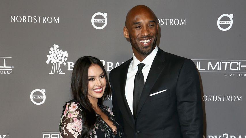 Vanessa Bryant und Kobe Bryant im November 2018
