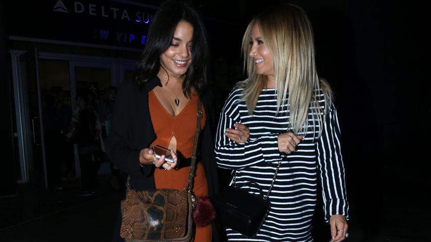 Vanessa Hudgens und Ashley Tisdale nach einem Selena-Gomez-Konzert im Staples Center