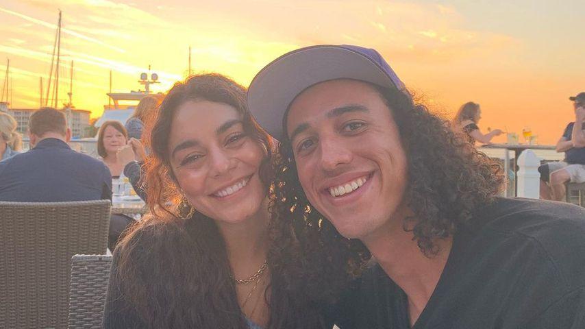 Vanessa Hudgens und Cole Tucker im März 2021