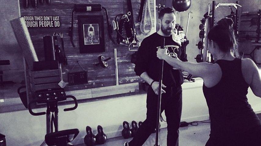 1 Monat nach Geburt: Vanessa Lachey wieder im Gym