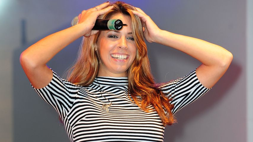 Vanessa Mai bei der SchlagerOlymp-Show im Strandbad Lübars