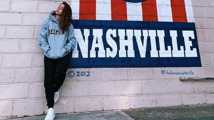 Schlagersängerin Vanessa Mai in Nashville, 2019