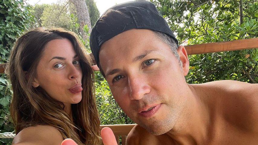 Vanessa Mai und ihr Mann Andreas, Juni 2021