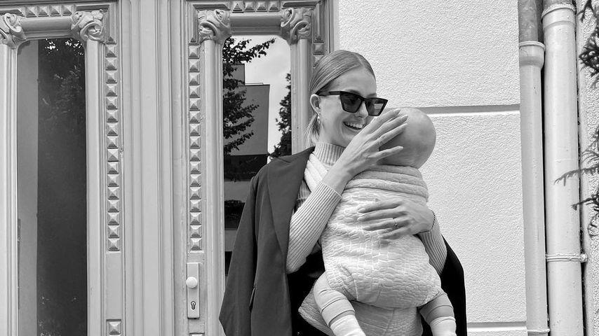 Job und Söhnchen: Vanessa Tamkan schafft es nicht alleine!