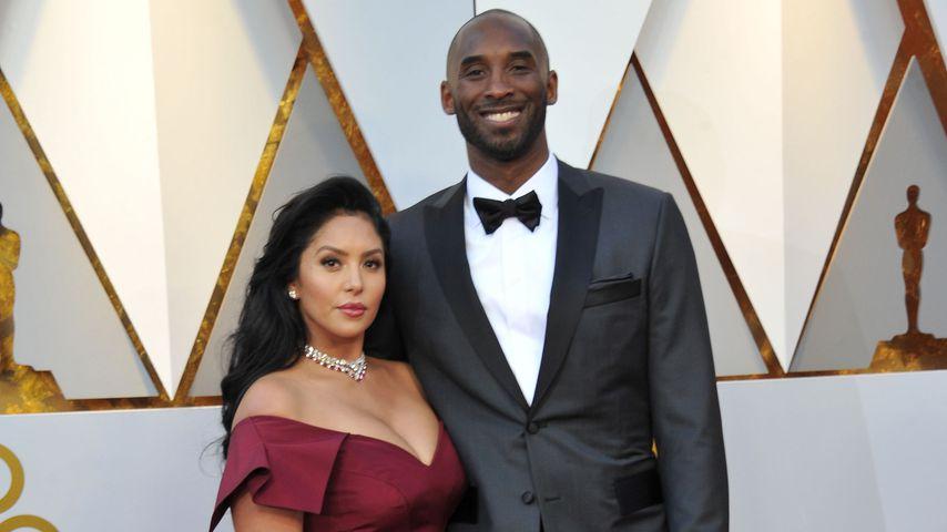 Vanessa und Kobe Bryant, März 2018