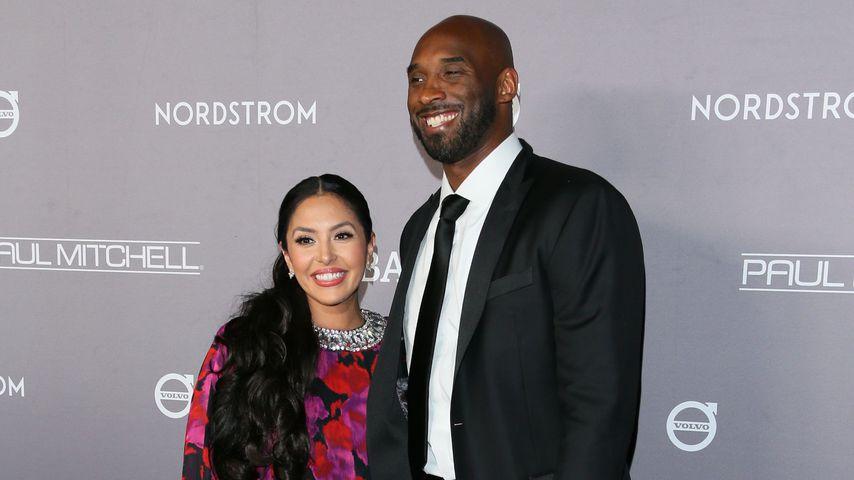 Vanessa und Kobe Bryant im November 2019 in Culver City