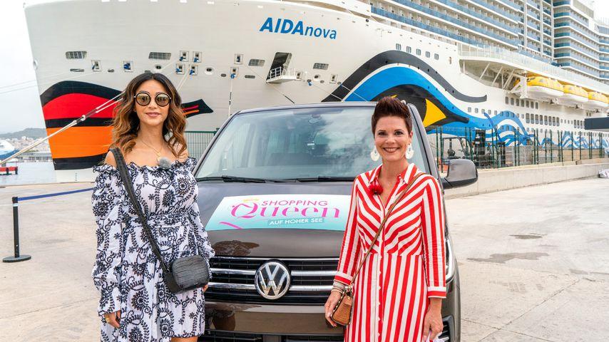 """Verona Pooth und """"Shopping Queen""""-Kandidatin Manuela"""