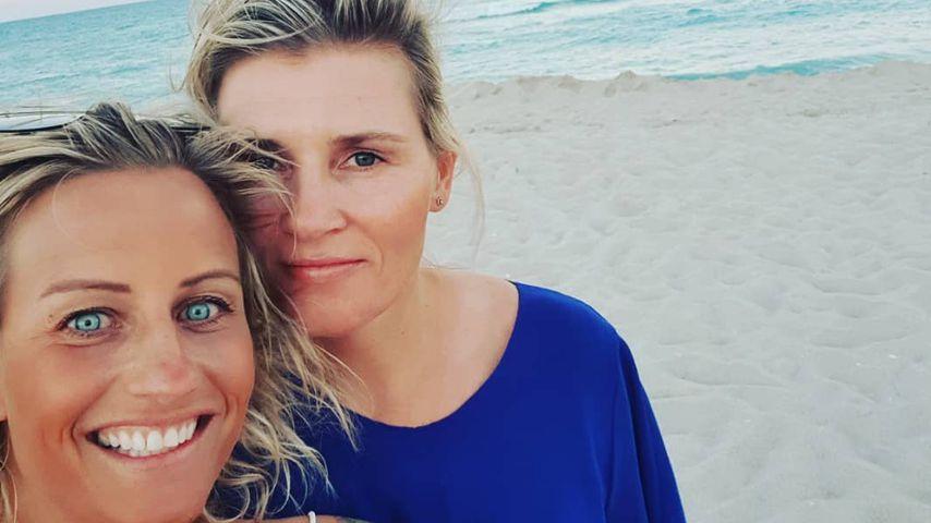 Vibeke Skofterud mit ihrer Freundin Marit