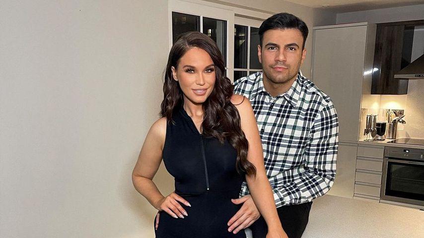 Vicky Pattison mit ihrem Freund