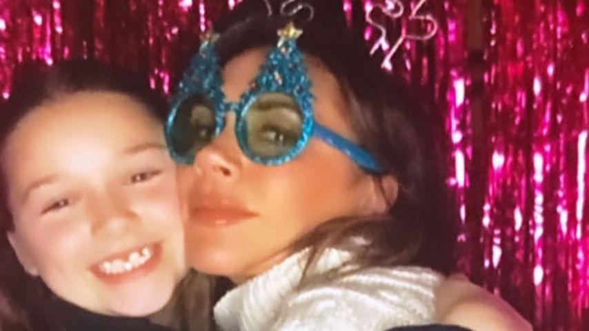 Victoria Beckham mit ihrer Tochter Harper Seven