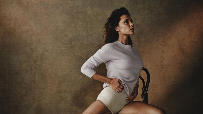 Victoria Beckham auf dem Cover der spanischen Vogue 2018