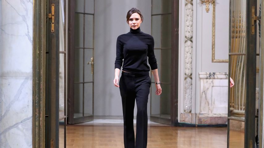 Victoria Beckham auf der New Yorker Fashion Week 2018