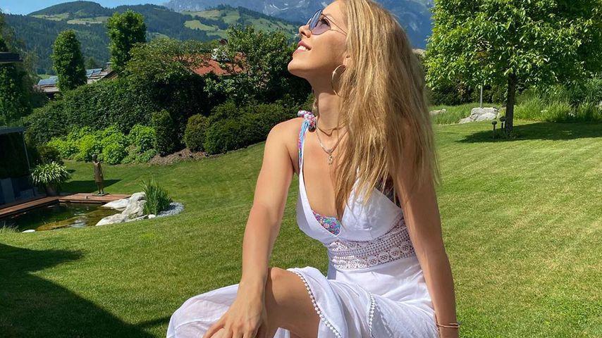 Victoria Swarovski in Österreich im Juni 2020