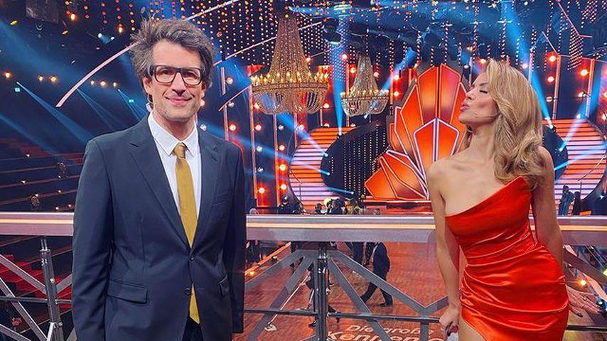 """Daniel Hartwich und Victoria Swarovski, Moderatoren bei """"Let's Dance"""""""