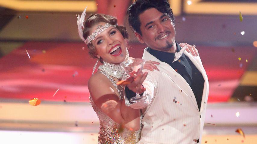 """Victoria Swarovski und Erich Klann bei """"Let's Dance"""""""