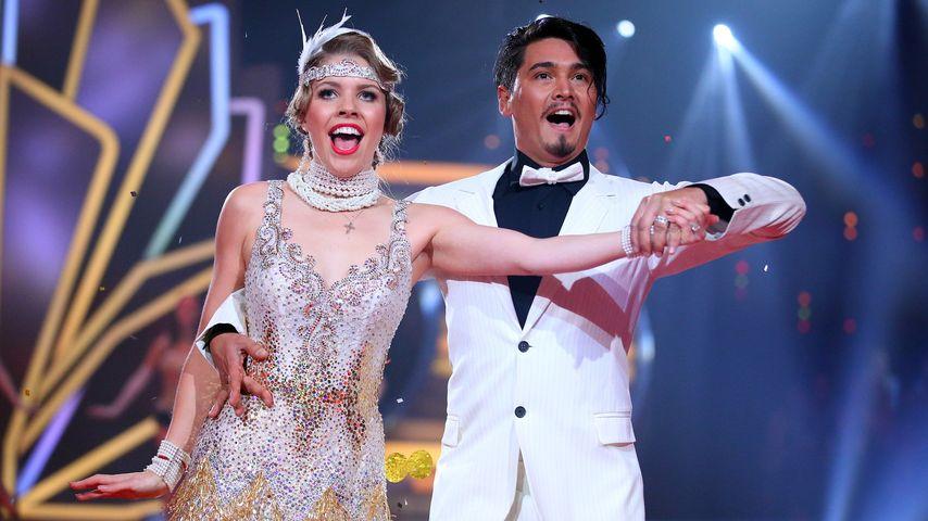 Kay One jubelt für BFF: Let's Dance-Victoria holt 30 Punkte