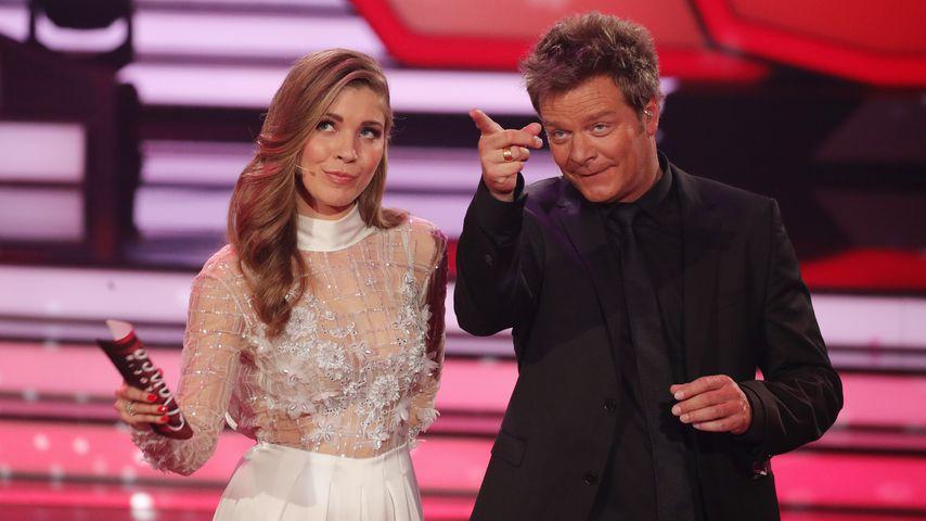 """Victoria Swarovski und Oliver Geissen, """"Let's Dance""""-Moderatoren"""