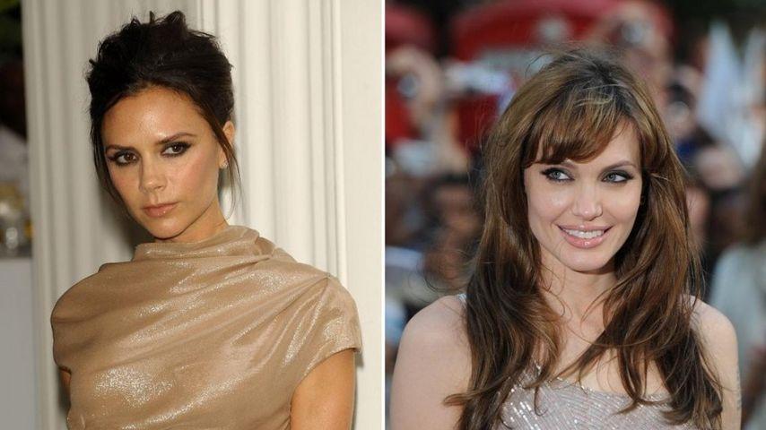 Victoria Beckham will Angelina Jolie anziehen
