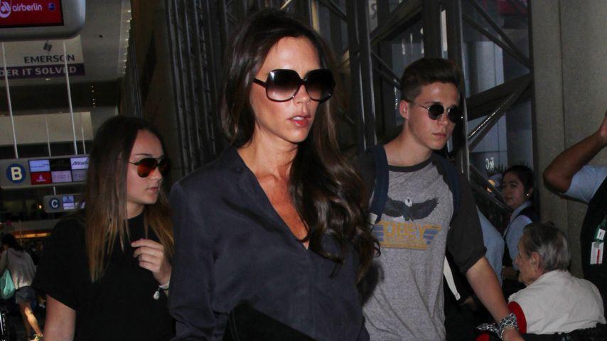 Victoria Beckham und Brooklyn Beckham