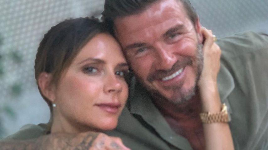 David bekommt dünne Haare: Victoria Beckham findet's super
