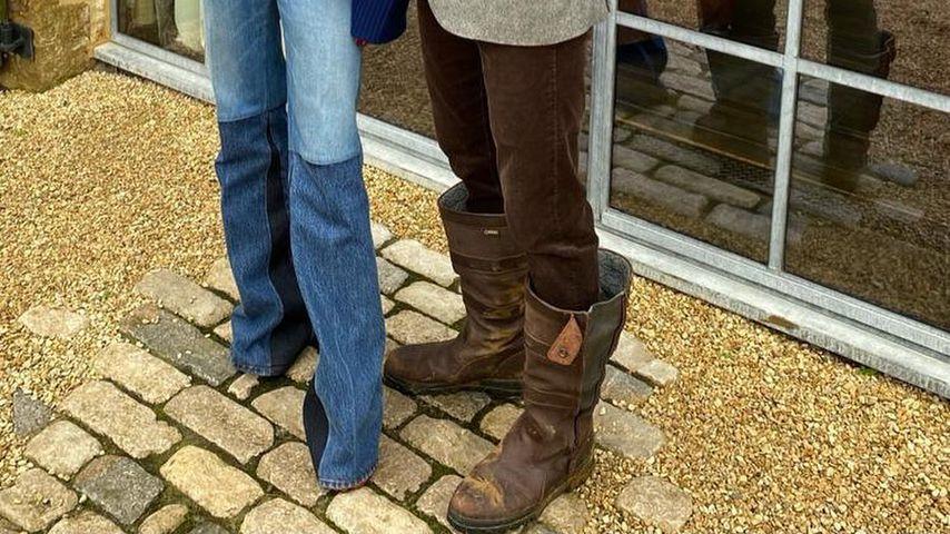 Victoria und David Beckham November 2020
