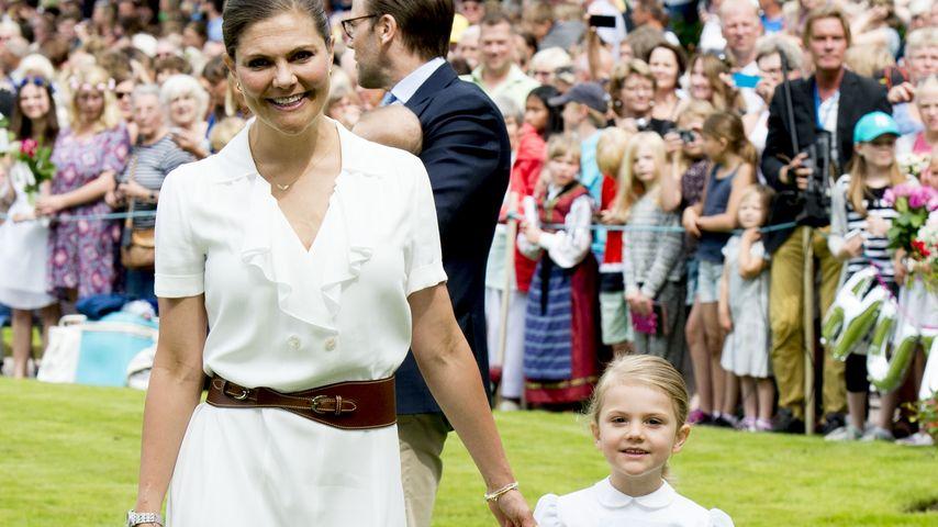 Victoria von Schweden und Estelle von Schweden am Victoria-Tag