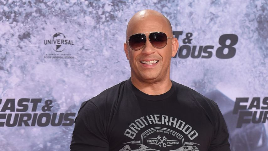 """Mega-Ausraster bei """"Fast 8""""-Premiere: Alle lieben Vin Diesel"""