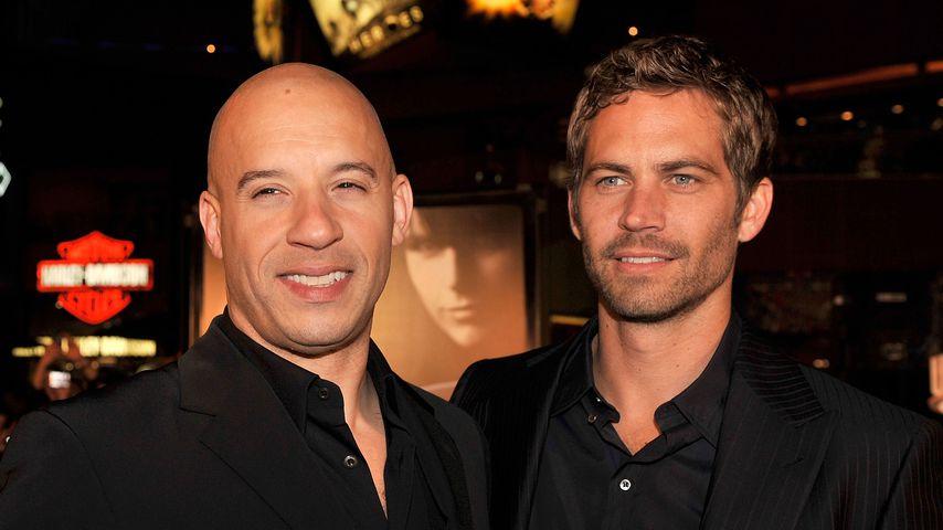 """Vin Diesel und Paul Walker bei der """"Fast & Furious""""-Premiere 2009"""