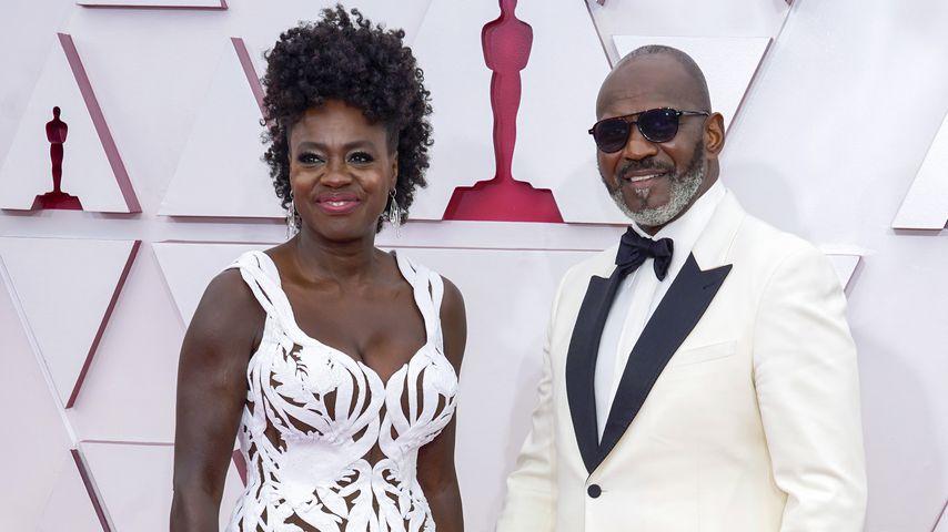 Viola Davis und Julius Tennon bei den 93. Oscars 2021