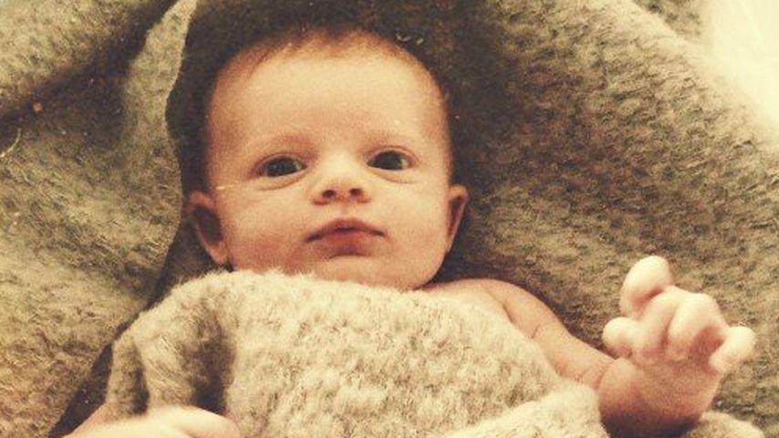 """""""Kings of Leon""""-Star Nathan stellt sein Baby vor"""