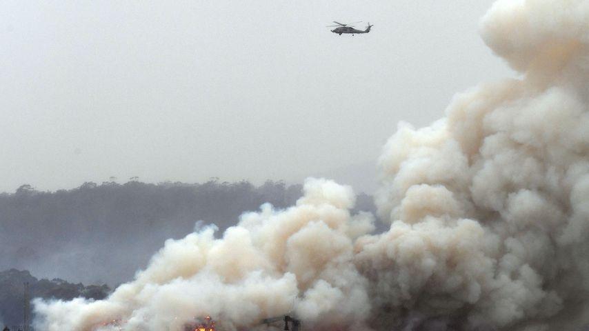 Waldbrände in Australien im Januar 2020