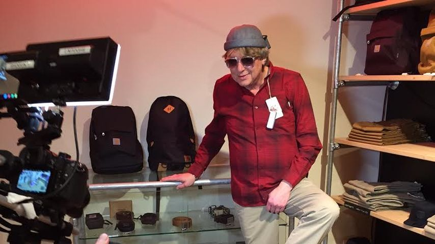 Schräger TV-Job: Walter Freiwald wird jetzt Mode-Blogger!