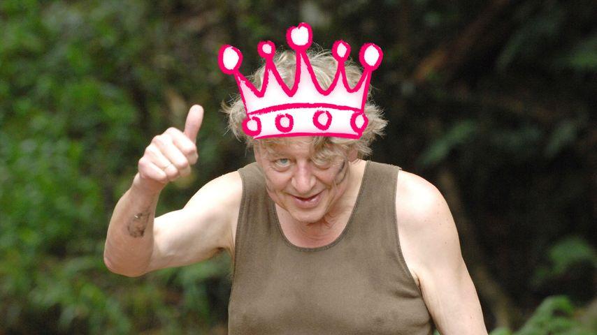Trotz Dschungel-Aus: Walter sieht sich als König!